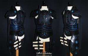 Sparadrap priest armor by AtelierFantastique