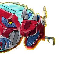 Transformers Rescue Bots Dinobot Optimus Prime by TheSpeed0fLlight