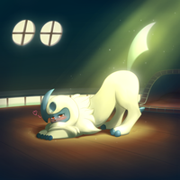 Good morning Absol by streetdragon95