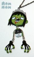 Zombie Necklace 2010 by junkyard-king
