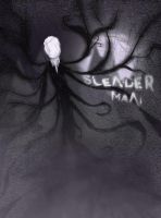 Slenderman in the forest by SymbiopticStudios