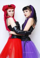 Red and Purple2 by venusmantrap
