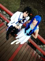 Gray and Juvia X791 by ToraCosplayers