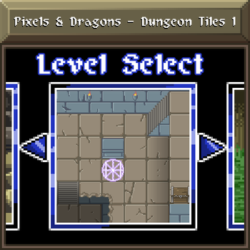 Pixels and Dragons - Dungeon Tiles 1 by Dsurion