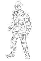 Ironway: Char. Design, Larry by ryujin2490