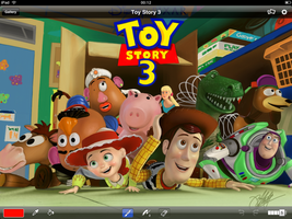 Toy Story iPad FingerPainting3 by kyle-lambert