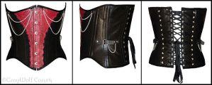 JohnnyK's Corset :male: by GrayWolfCorsets