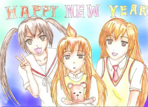 Happy New Year by liilaa