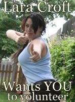 Lara Croft Wants YOU... by kandell