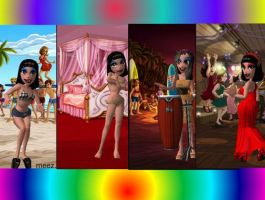 Cleo Outfits Meez by founten