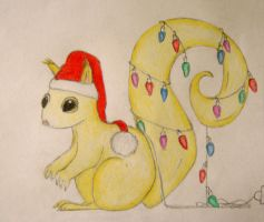 Christmas Squirrel devID by vannesdesigns