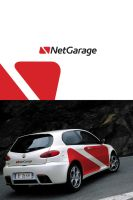 Netgarage logo by luqa