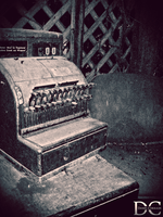 Retro Cash Register by transitoryspace
