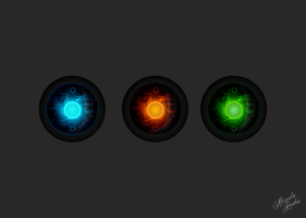 The RGB Orbs by Kanthos8