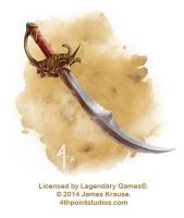 Cutlass for Legendary Games by JamesJKrause