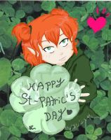 Happy St-Patric's day by miaou-moon