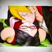 Borusara kiss good bye by ambarnarutofrek1