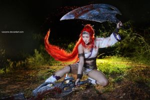 Heavenly Sword - Beauty of bloodshed by vaxzone