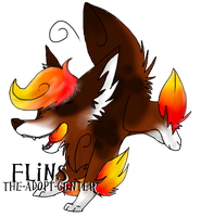 Deathana-Underworld: Flameo by The-Adopt-Center