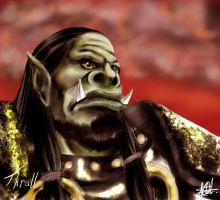 Thrall, son of Durotar. by CrazyDwarf