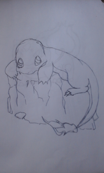 Charmander scketch by Marcos1094
