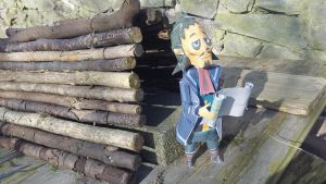 Captain Linebeck Papercraft by Papergum2000
