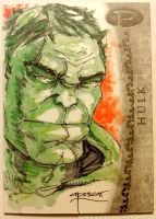 Upper Deck Marvel Premier: Hulk by aposcar
