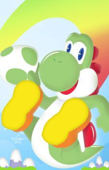Yoshi by the-lagz