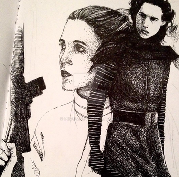 Leia and her Problematic Son by piigss