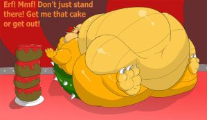 Bowser Is Out of Reach by FangWolf23