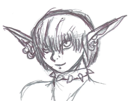 Valo The Goblin Sketch 1 by SpaceRanger108