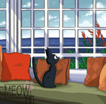 Jiji's Lazy Day by MeowYin