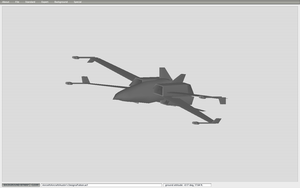 The Falken attack fighter by caboose11l2