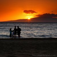 Kihei Sunset by La-Vita-a-Bella