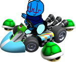 Ana Squirtle in Mario Kart! by LuigiBroz
