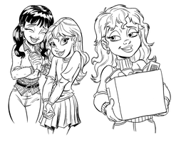 Dorm Girls_bancroft by tombancroft