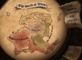 The world of Word by Alvarocorcin