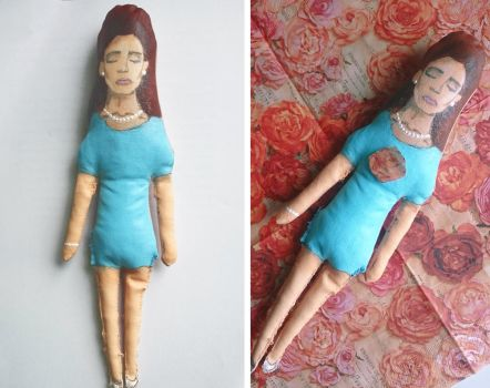 Lana Del Rey National Anthem Doll by Xperionity