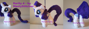 Rarity #4 (mini sized) by ManlyStitches