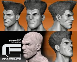WIP Guile sculpting by fractalife
