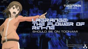 Lagrange: The Flower of Rin-ne - Toonami Wallpaper by AaronMon97