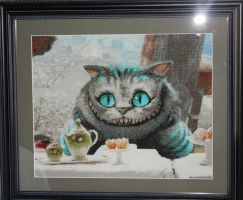 Cross Stitch - Chessur by DragomirEmil