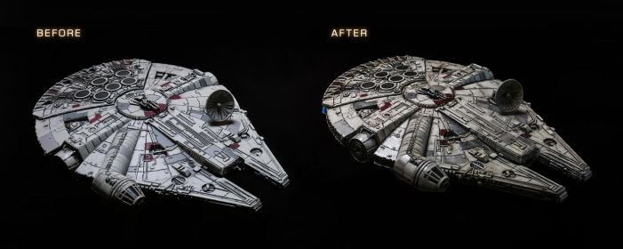 Falcon Before and After by AlexJJessup