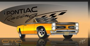 Pontiac GTO by Drawer888