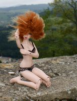 S - pose in the wind 4 by beedoll