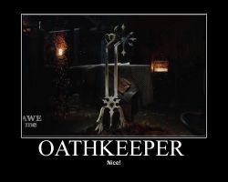 Man at Arms:  Kindgom Hearts Oathkeeper by Onikage108
