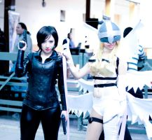 Selene and Angewmon by Magic-Alex-Photo