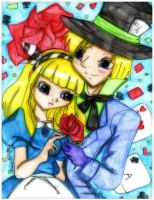 Alice and Hatter by Danielle-chan