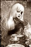 .tea time with nerhegeb. by bloodymarie