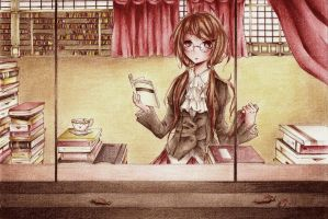 The Librarian by icchuu